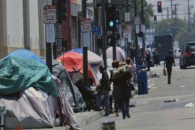 Authorities Haven't a Clue What to Do About Skyrocketing Homelessness in California