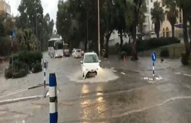 Floods paralyze roads as heavy rain hits parts of Lebanon and Israel