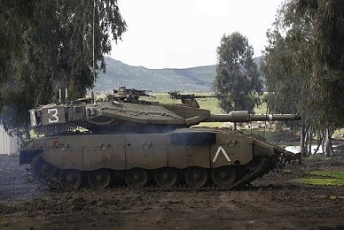 Israel confirms strike in Syrian Golan, further cracking ambiguity policy