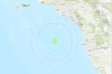 Trio Of Earthquakes Off Coast Felt in L.A., Riverside And San Diego Counties