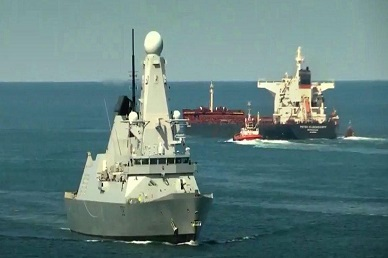 "UK Sends 3rd Warship To Gulf As Iran's Khamenei Vows To ""Answer"" British ""Piracy"""