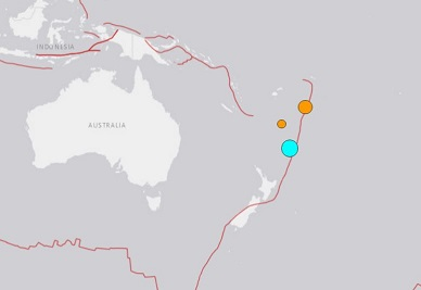 M6.1, M7.2, M6.3 earthquakes hits Tonga and Kermadec Islands within 6 hours