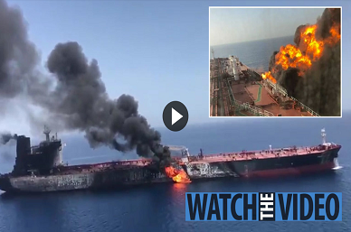 TANKER INFERNO Gulf of Oman attack