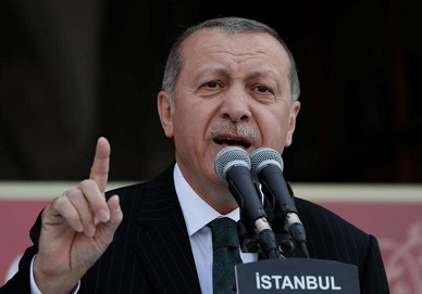 Erdogan: 'Time for us to take a physical stance on Israel'
