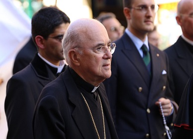 Ex-Nuncio Accuses Pope Francis of Failing to Act on McCarrick's Abuse