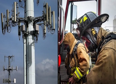 Firefighters Suffer Neurological Damage After Contact With 5G Cell Towers