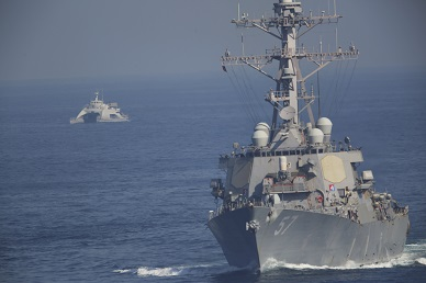 Iranian Ships Reportedly Fire Rockets Near US Aircraft Carrier in Persian Gulf