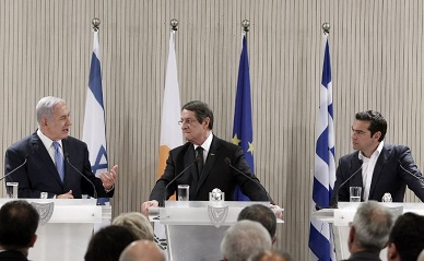 Israel, Cyprus, and Greece push East Med gas pipeline to Europe
