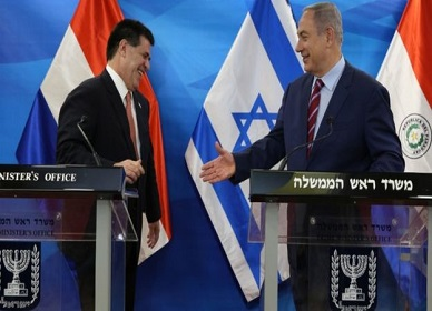 Paraguay and Israel in spat over Jerusalem embassy