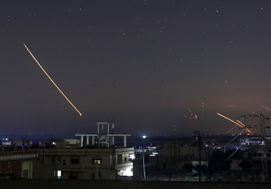 Report: Syrian air defense intercepts Israeli missile strike on airport