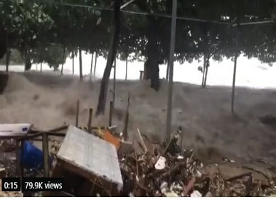 Videos - UNBELIEVABLE DEVASTATION! Typhoon Mangkhut blasts Hong Kong and China