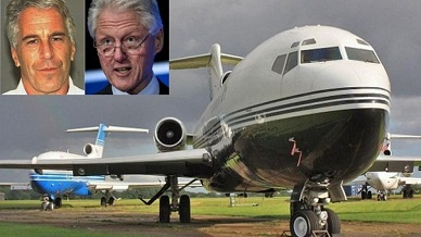 Flight logs show Bill Clinton flew on sex offender's orgy jet much more than previously known