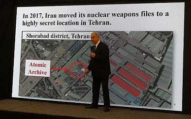Mossad stole Iran's nuke archive and smuggled it back to Israel the same night