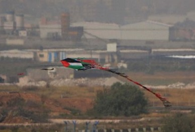 RAGING INFERNO: New kind of 'Palestinian' terrorism – firebomb kites – sows fear in Israel