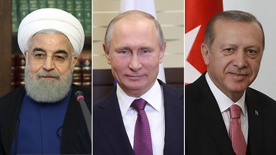 Kremlin: Putin, Rouhani and Erdoğan to meet for talks in April