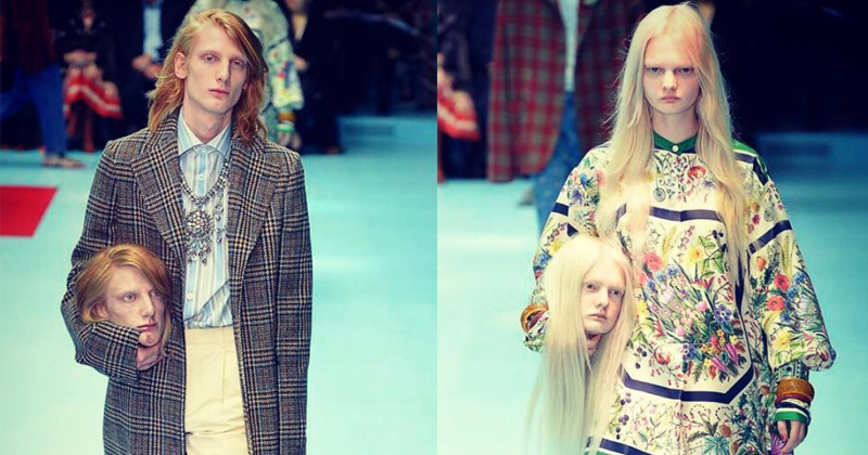 WTF: Gucci Models Carry Severed Heads In Runway Show
